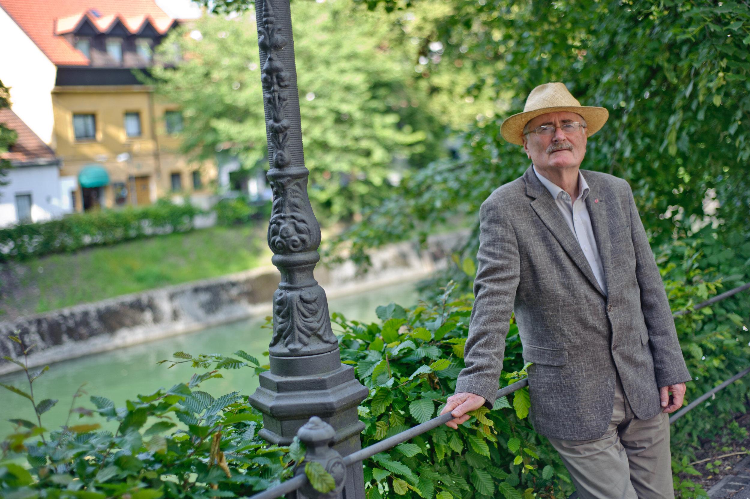 Dr. Božidar Voljč, predsednik komisije za medicinsko etiko. Foto: Tomaž Zajelšnik/Dnevnik