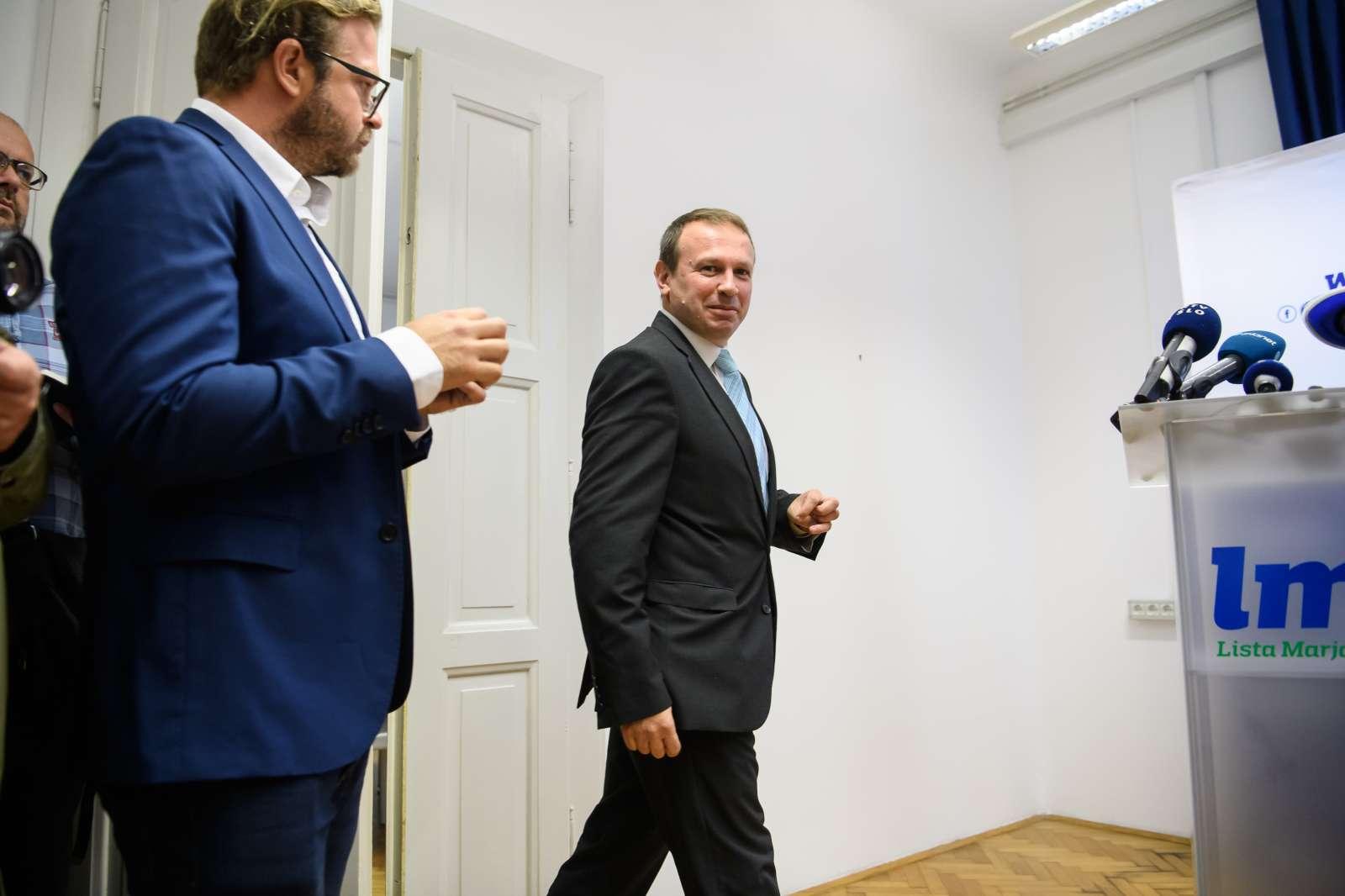 Ferenc Horváth (na fotografiji desno), Foto: STA