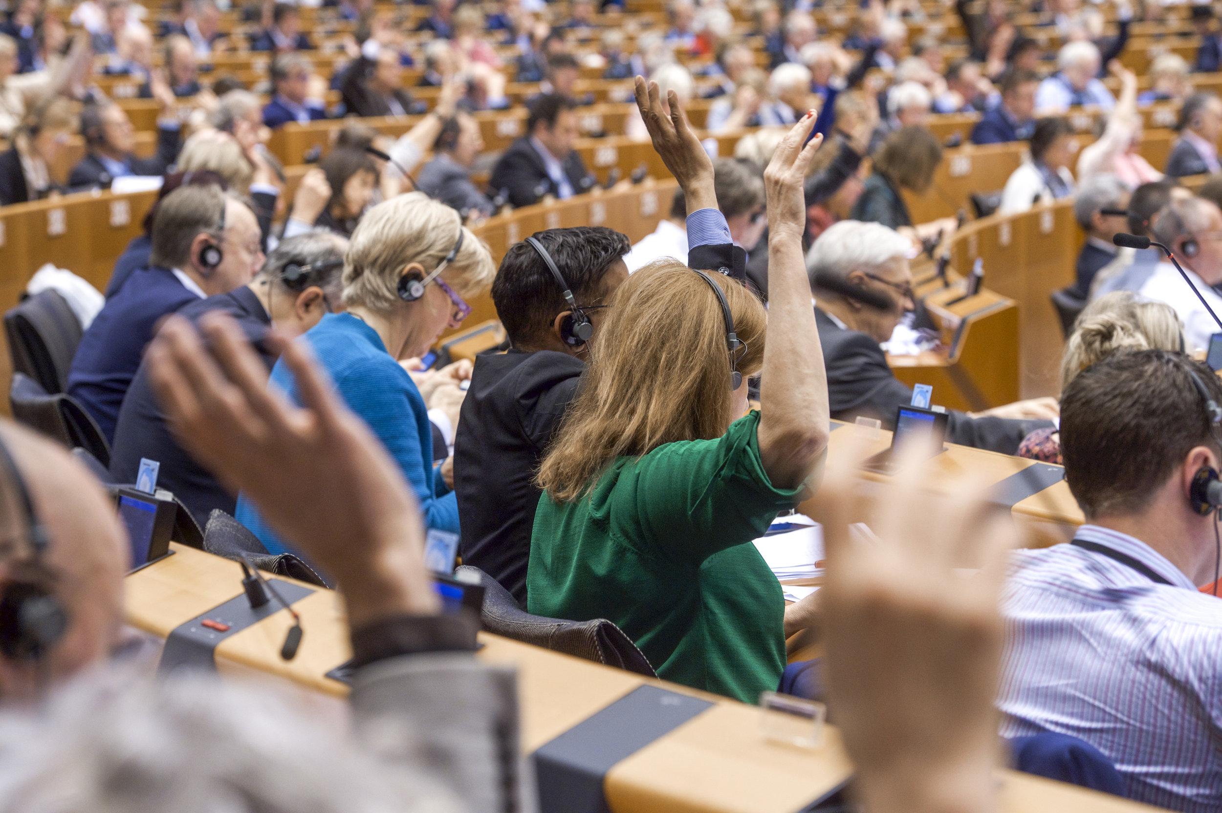 Foto: Jan VAN DE VEL, European Union 2019, vir: EP