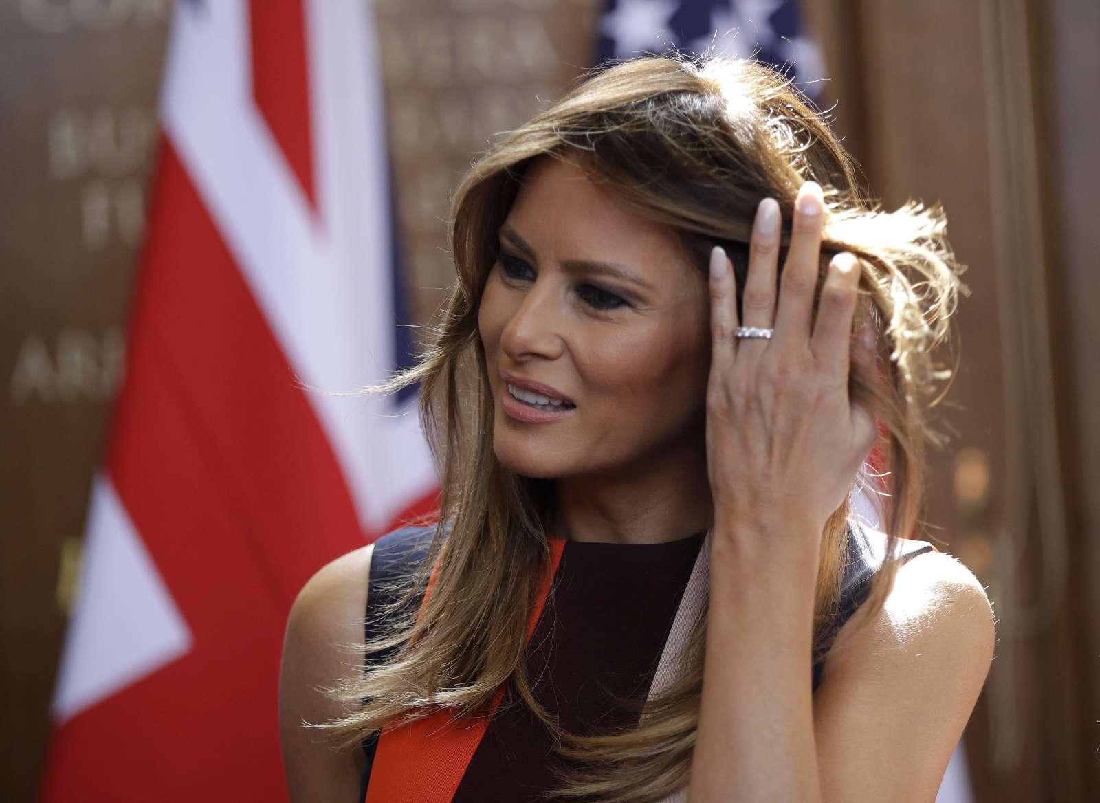 Melania Trump. Foto: dpa/STA