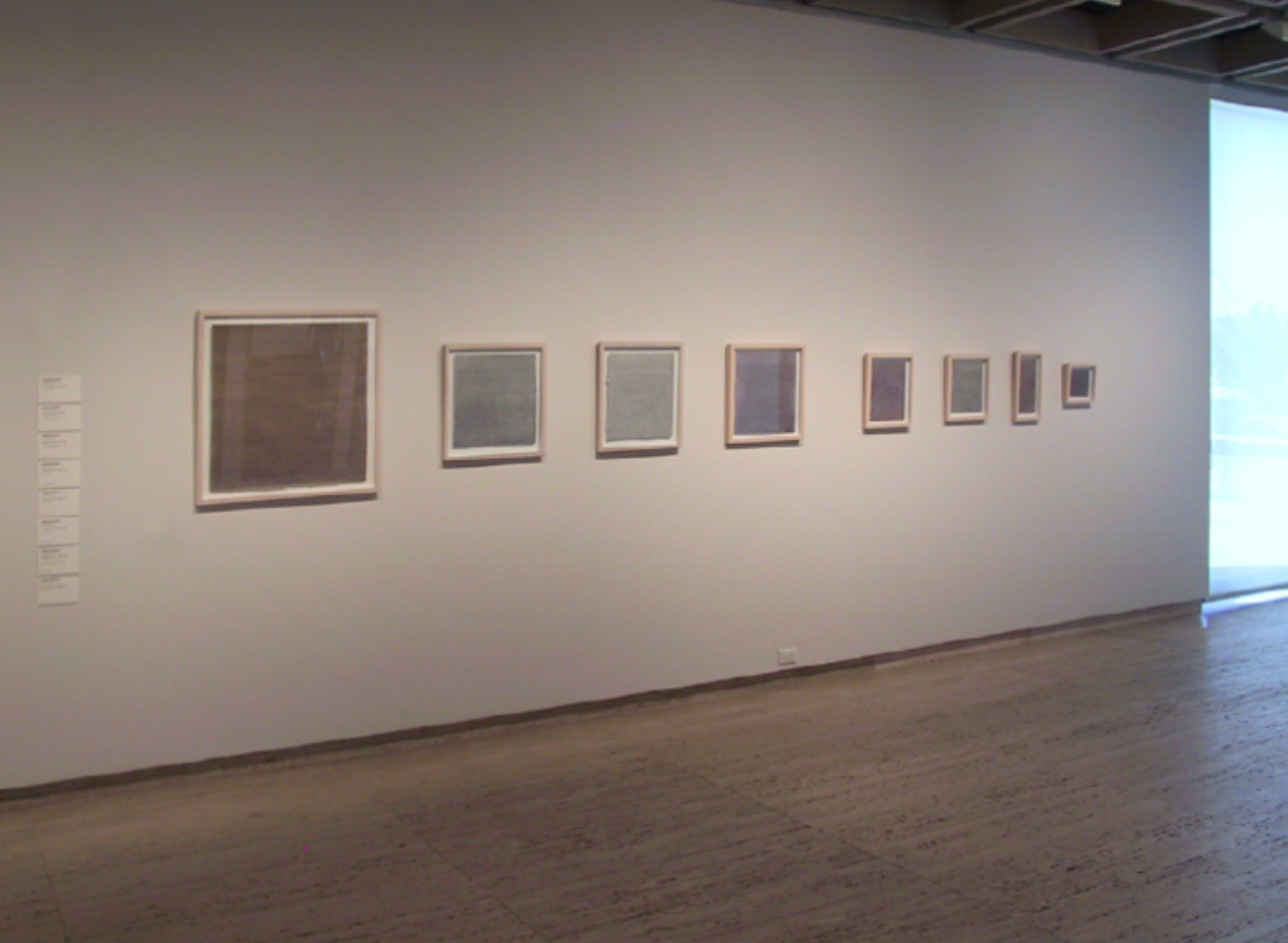 'AGNSW drawings'; 8 drawings, each ink on paper