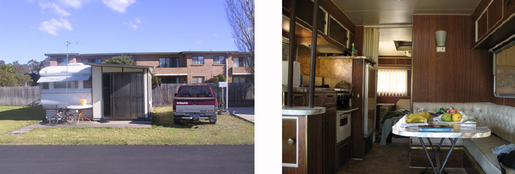 Val's Caravan, Narooma, NSW.