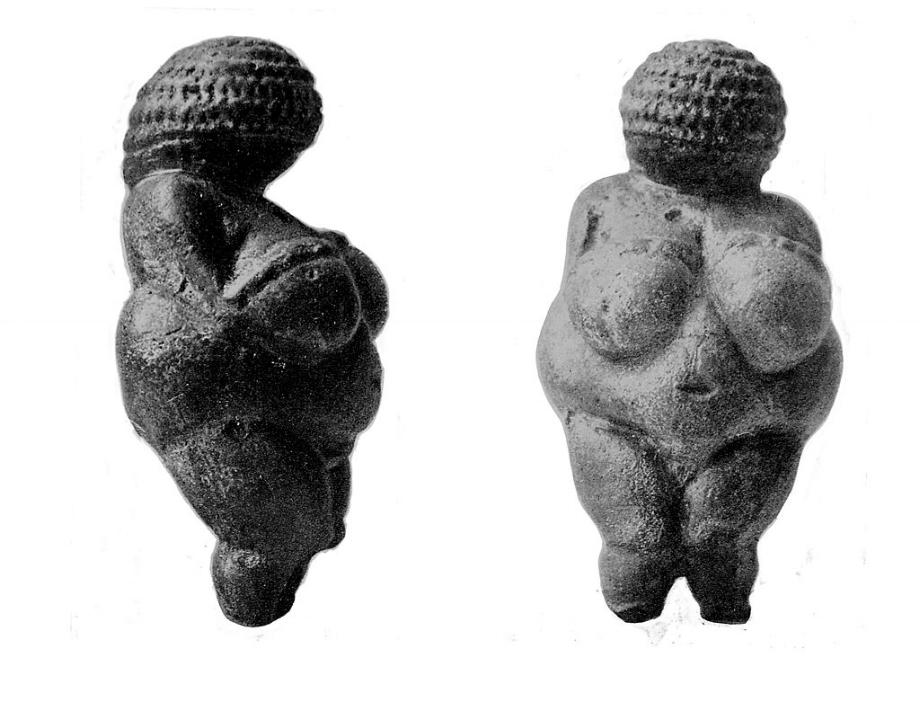 Venusbeeld, ook wel bekend als Venus van Willendorf, Wellcome Collection.