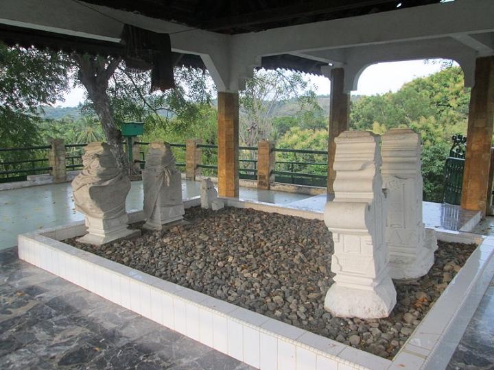 Het graf van Malahayati in Indonesië.