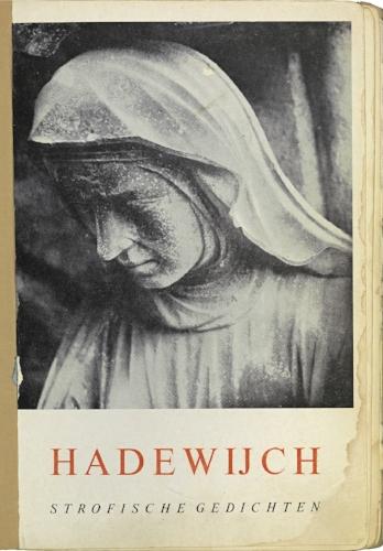 Uitgave van de strofische gedichten van Hadewijch, 1961.