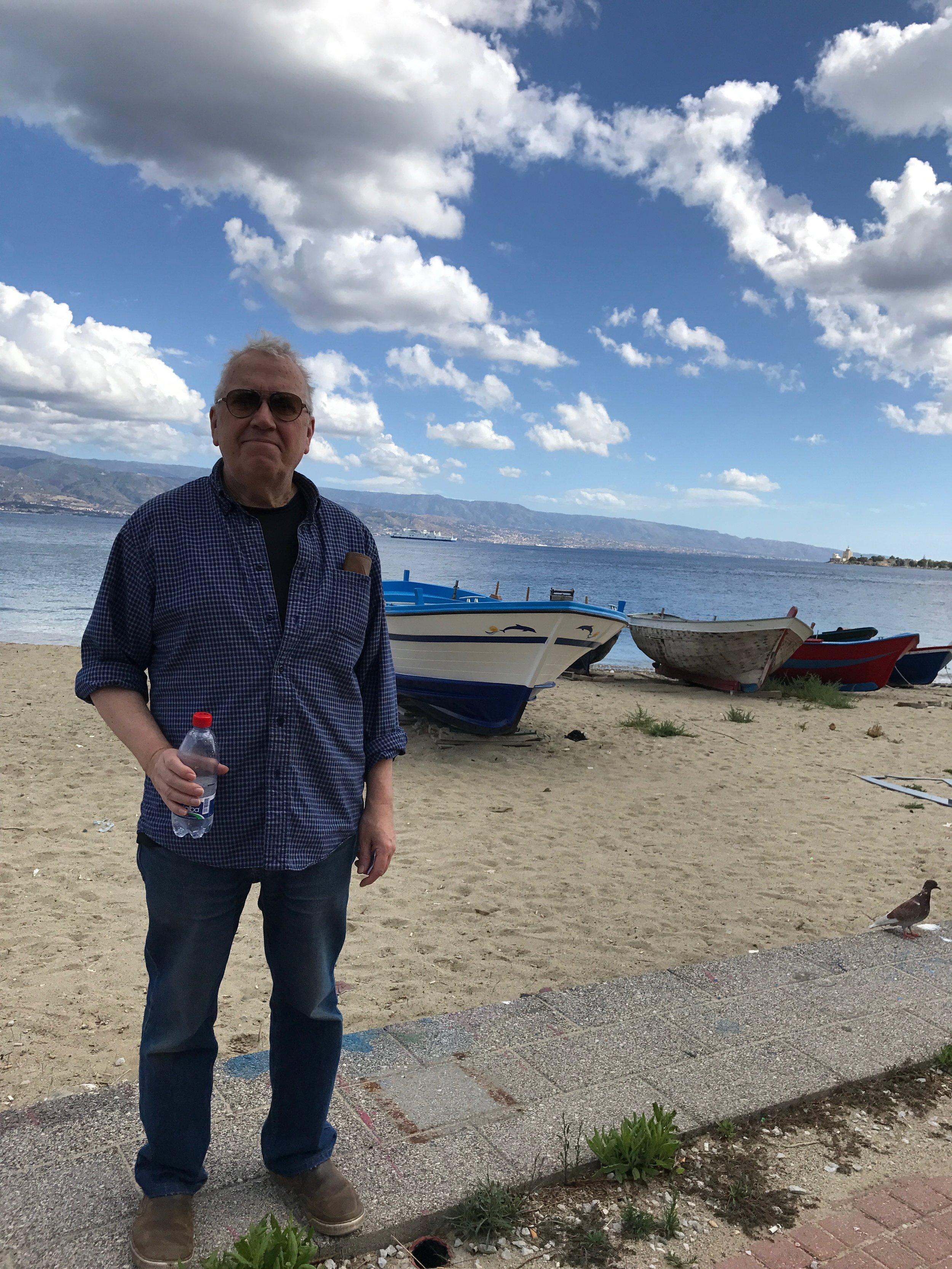 At the straits of Messina