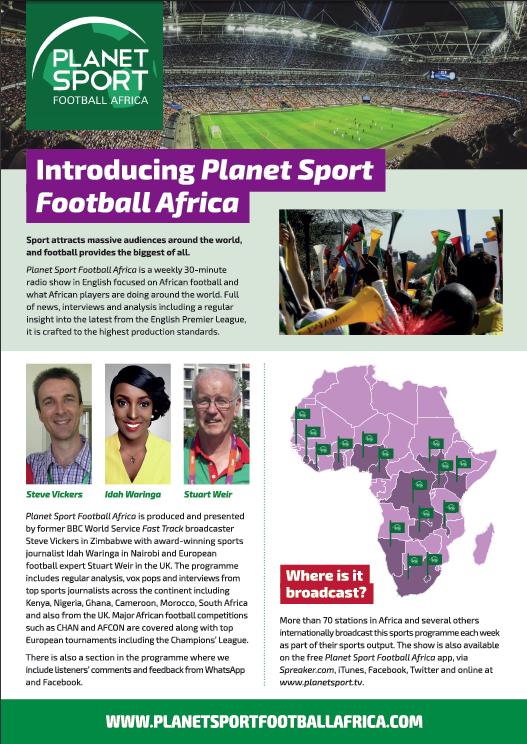 Planet Sport Football Africa — Planet Sport