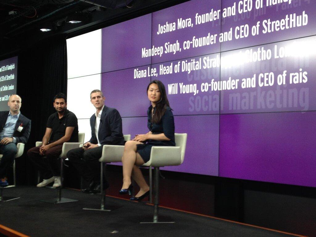 Social Retail Summit - customer data panel