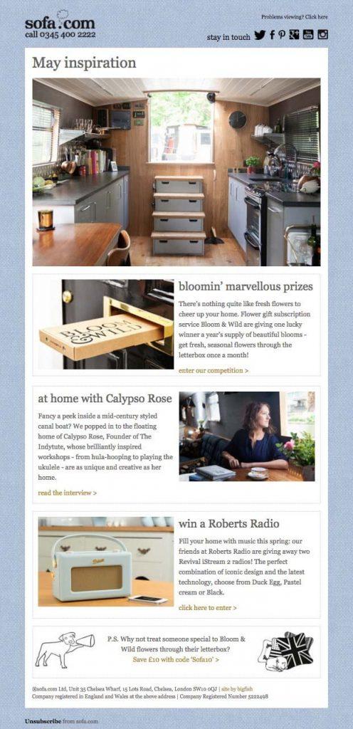 sofa com email image