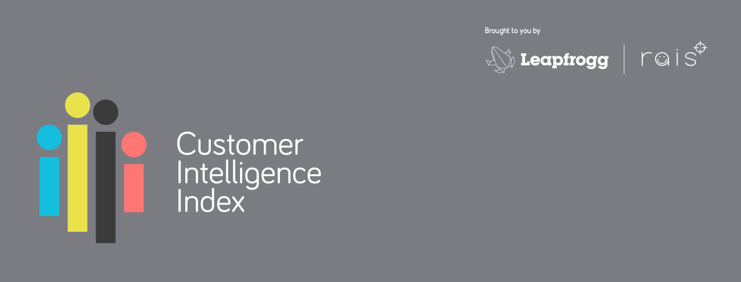 Customer Intelligence Index banner
