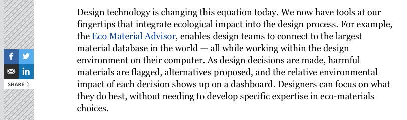 Forbes Autodesk blog post excerpt referencing Granta Design