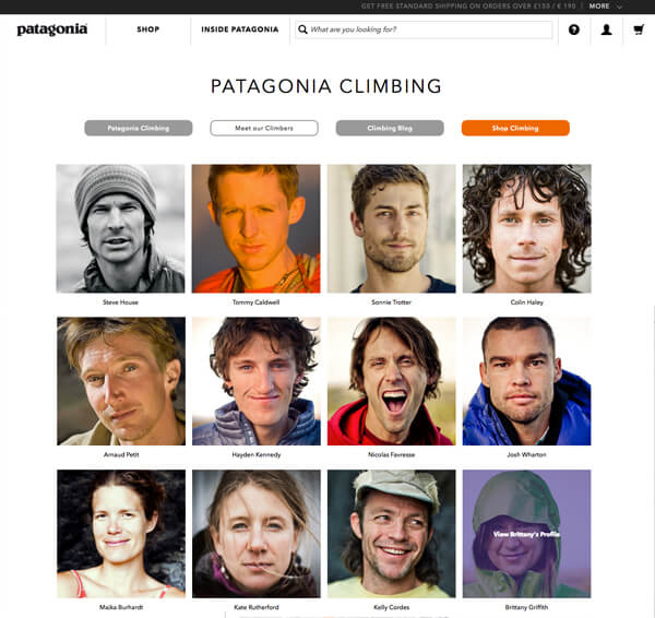 patagonia great content marketing example multiple blogs 2