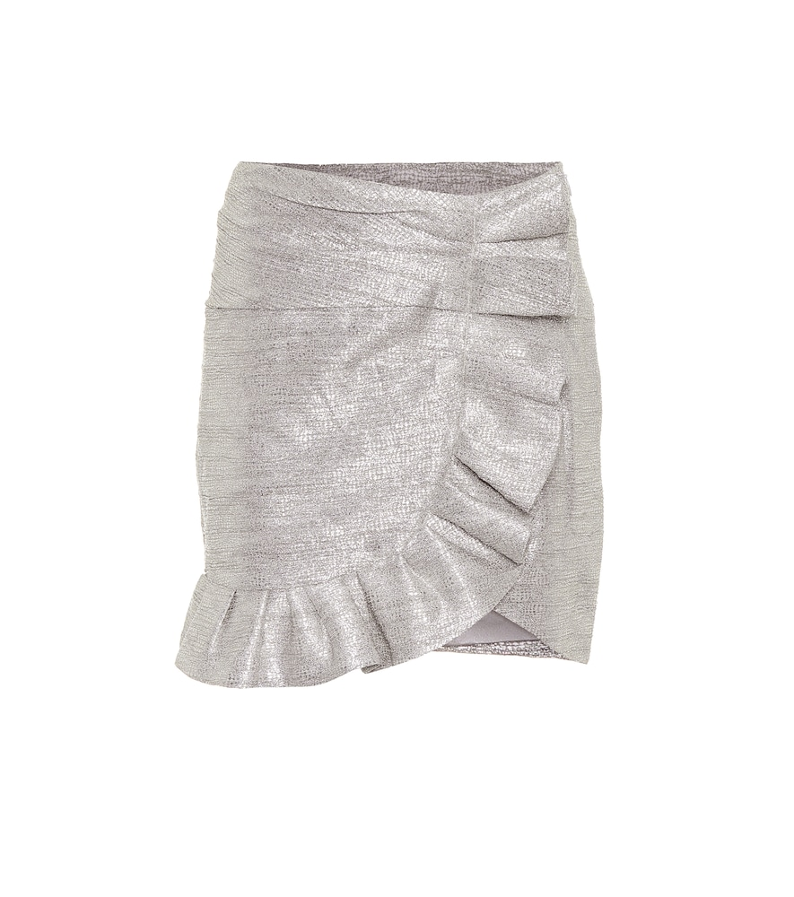 Brighten up the room in this miniskirt from Jonathan Simkhai.