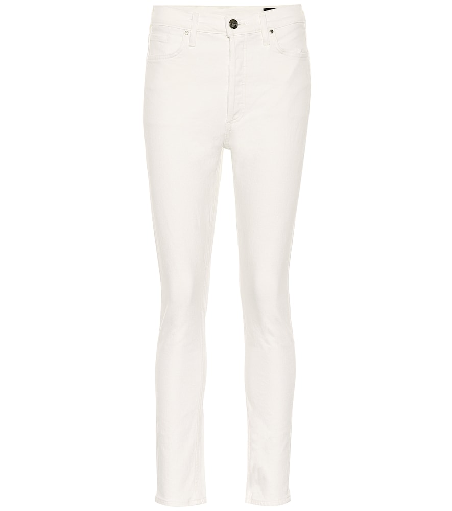 Presented here in an enduringly appealing white colorway, these jeans from Goldsign are a style to put on heavy rotation.