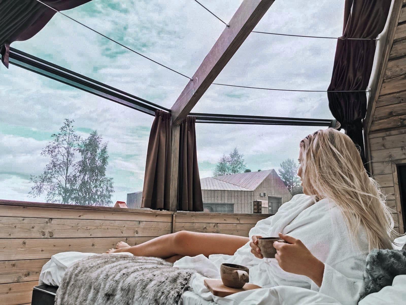 Järvisydän hotel and spa glass igloo room view .jpg