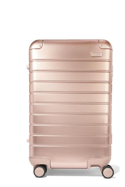 Away - Carry-on Aluminum Suitcase - Pink (£ 425)