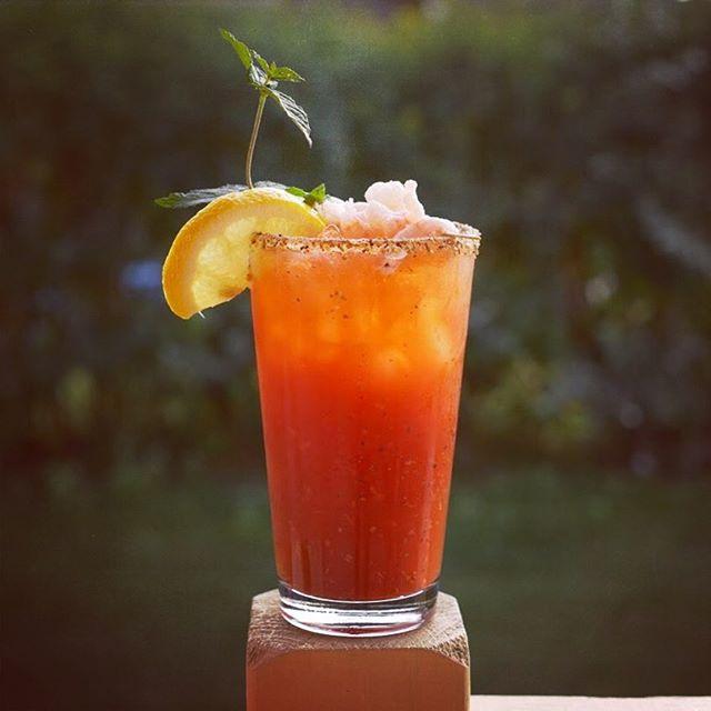 Toutes les raisons sont bonnes pour venir boire un Ceasar au Ketch. #bloodyceasar #LeKetch #Gaspesie