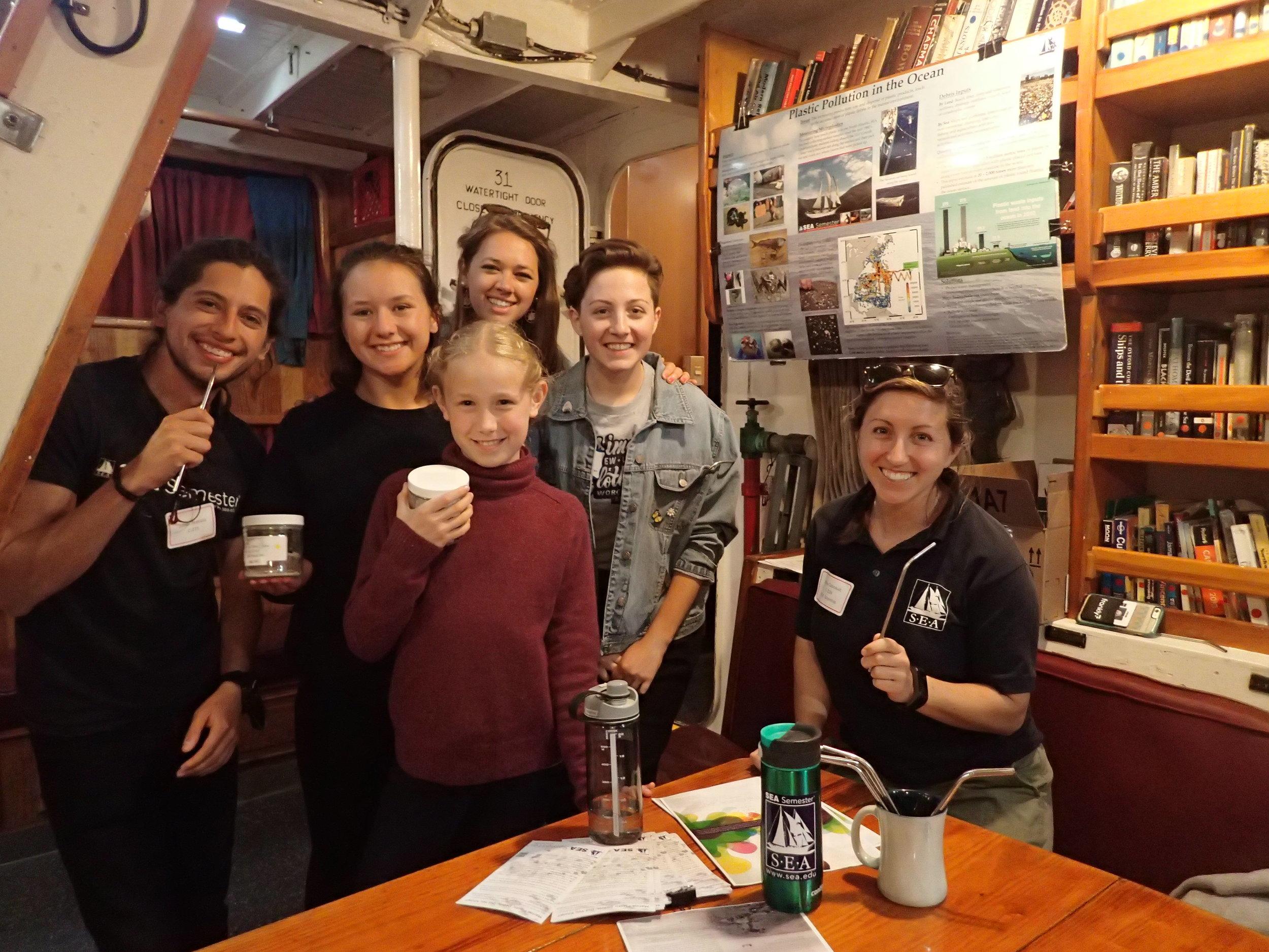2017 06 03 Cramer SUPR open ship students, crew, 5th grader.JPG