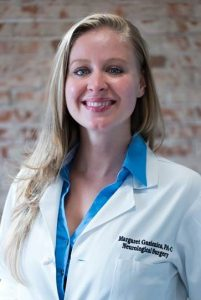 Margaret Gasienica, PA-C   Margaret joined the CBSI team in 2013. She is originally from Winter Park, Colorado, and attended The University of Colorado, Boulder for her undergraduate degree. She received her Physician Assistant certification at Red Rocks Physician Assistant Program and her master's in Medical Science at St. Francis University. In her free time, Margaret enjoys spending time outdoors: mountain biking, hiking with her pups, backpacking, camping, and snowboarding.