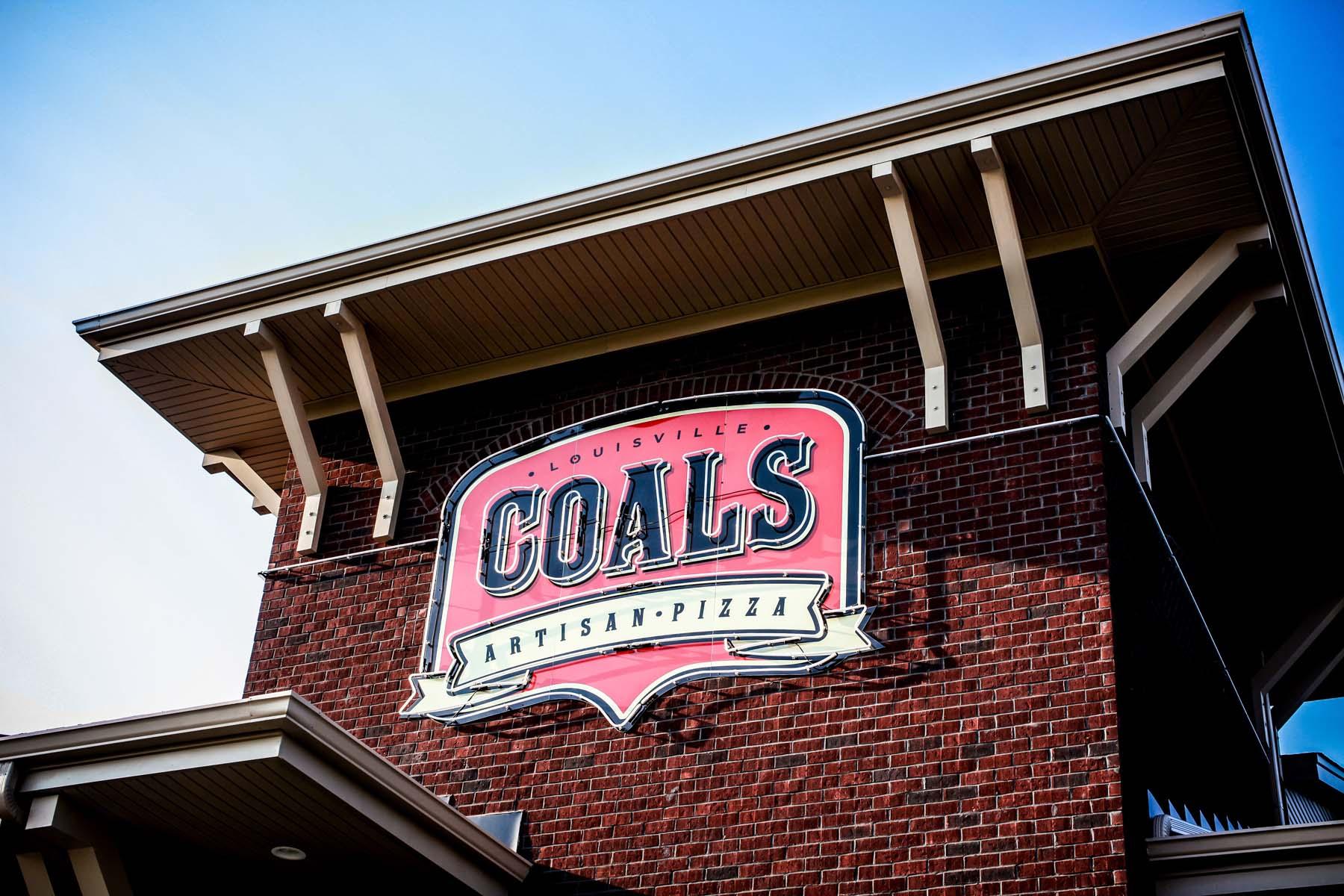 Coals Artisan Pizza Sign