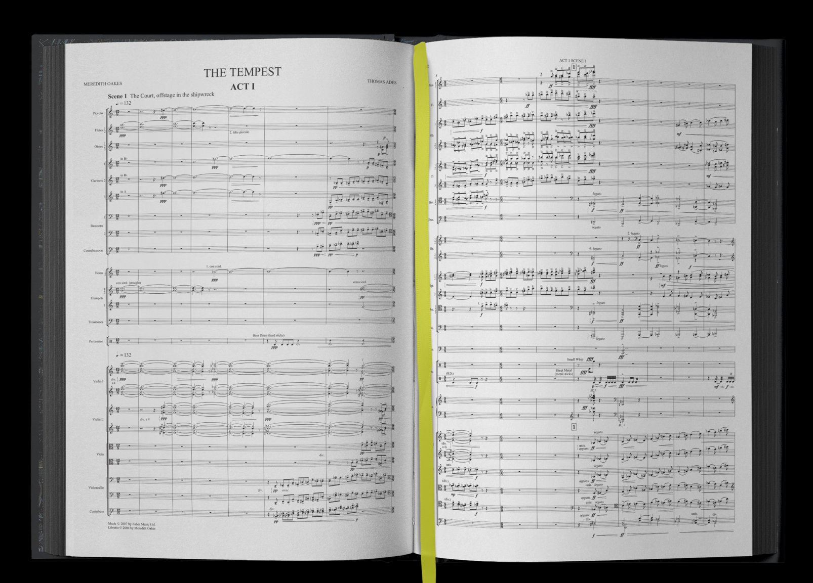 beautifully presented full orchestral score -