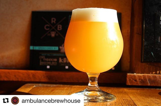 #Repost @ambulancebrewhouse ・・・ Now pouring...the official beer of Rockland County Beer Week, Rocklandia!! || We got the gang together for this cellaboration of the emerging scene here in Rockland County! Made by @industrialartsbrewing @kukabeerny @district96_beerco @defiantbrewing and @gentlegiantbrewing  for @ambulancebrewhouse @growlerandgill @daveys_irish_pub @sevenlakesny @thelocalnyack @whiskeykitchen ||Rocklandia NEIPA sports a spicy base of Rye, Wheat, Oats and local honey. An aggressive hop profile of Azacca, Motueka and Chinook brings big summer garden notes of ripe melon, cucumber and herbs. Rock on, rockhounds.||. This is just one of 20 collaboration beers we will have on tap tomorrow! Full tap list coming later today! #rocklandcountybeerweek #rocklandia #juice #hopsonhopsonhops #collaboration #beerlife #drinkbeer #craftbeer #ambulancebrewhouse #beer