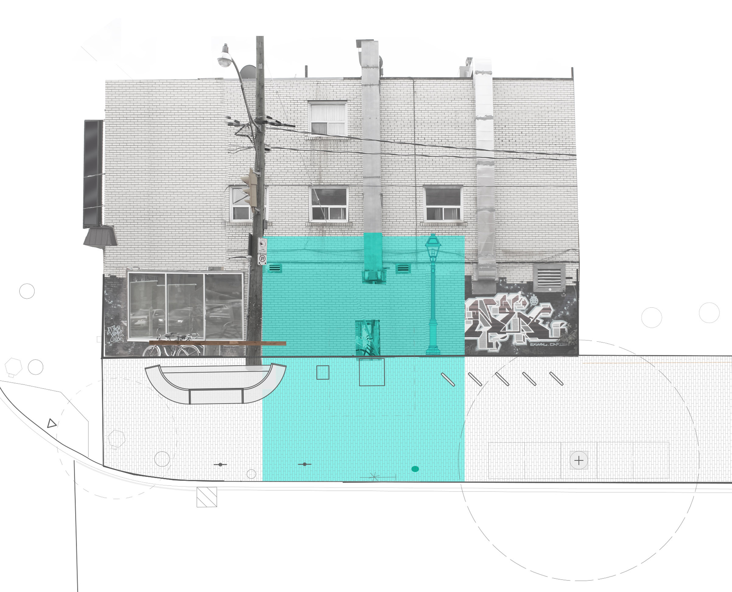 Design Drawing 2014 - The Living Room: Dovercourt Road