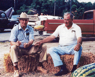 From left to right:  A.J. Worley, Monroe Enzor, Sr.