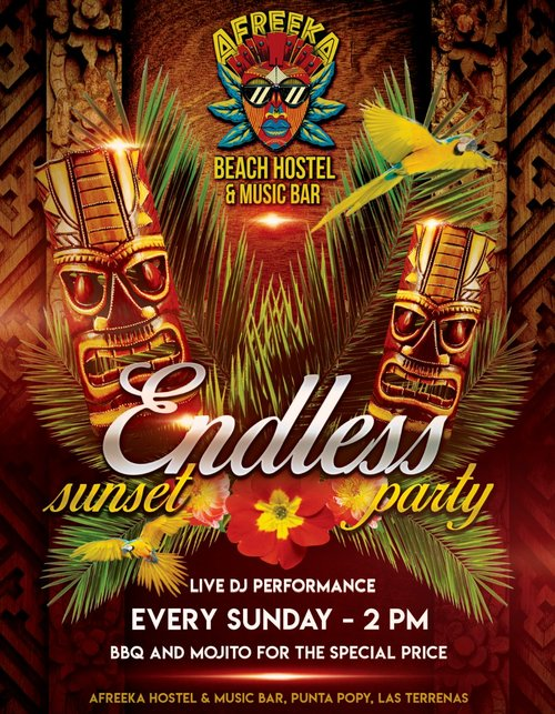 ENDLESS SUNSET PARTY ON SUNDAYS