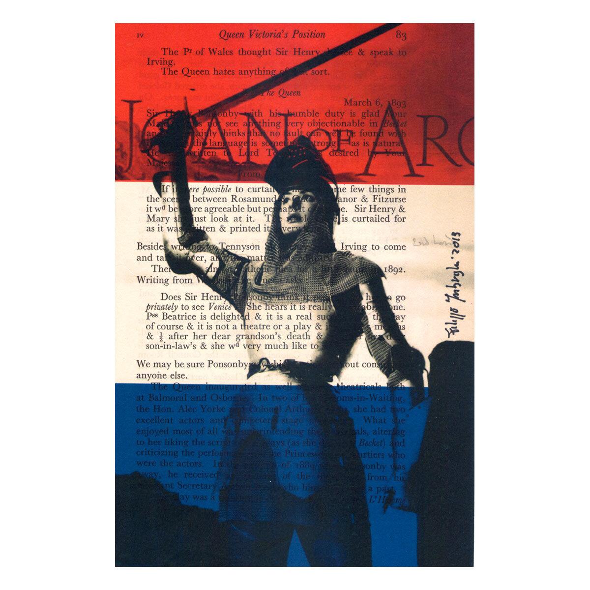 Joan of Arc Ingrid Bergman vintage movie poster #2