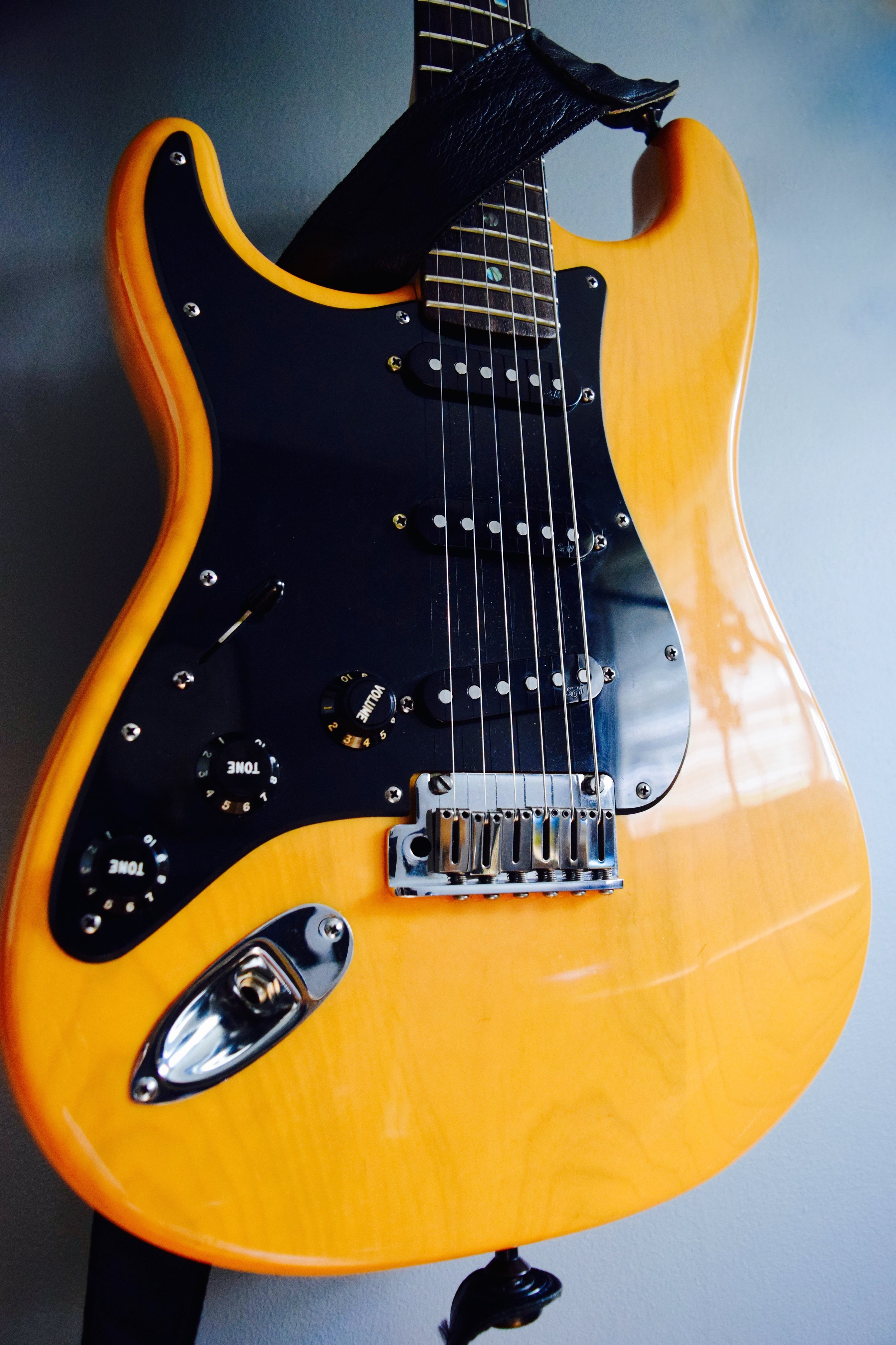 Fender Stratocaster 60th Anniversary, Justin Jon Studio Guitar Tracking