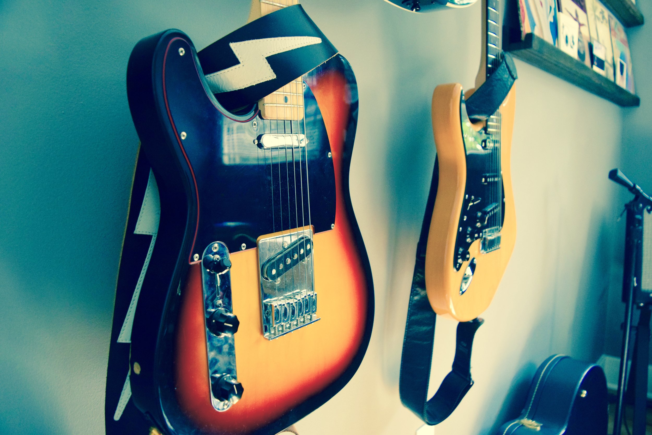Studio Guitar Tracking, Justin Jon, Los Angeles Guitarist