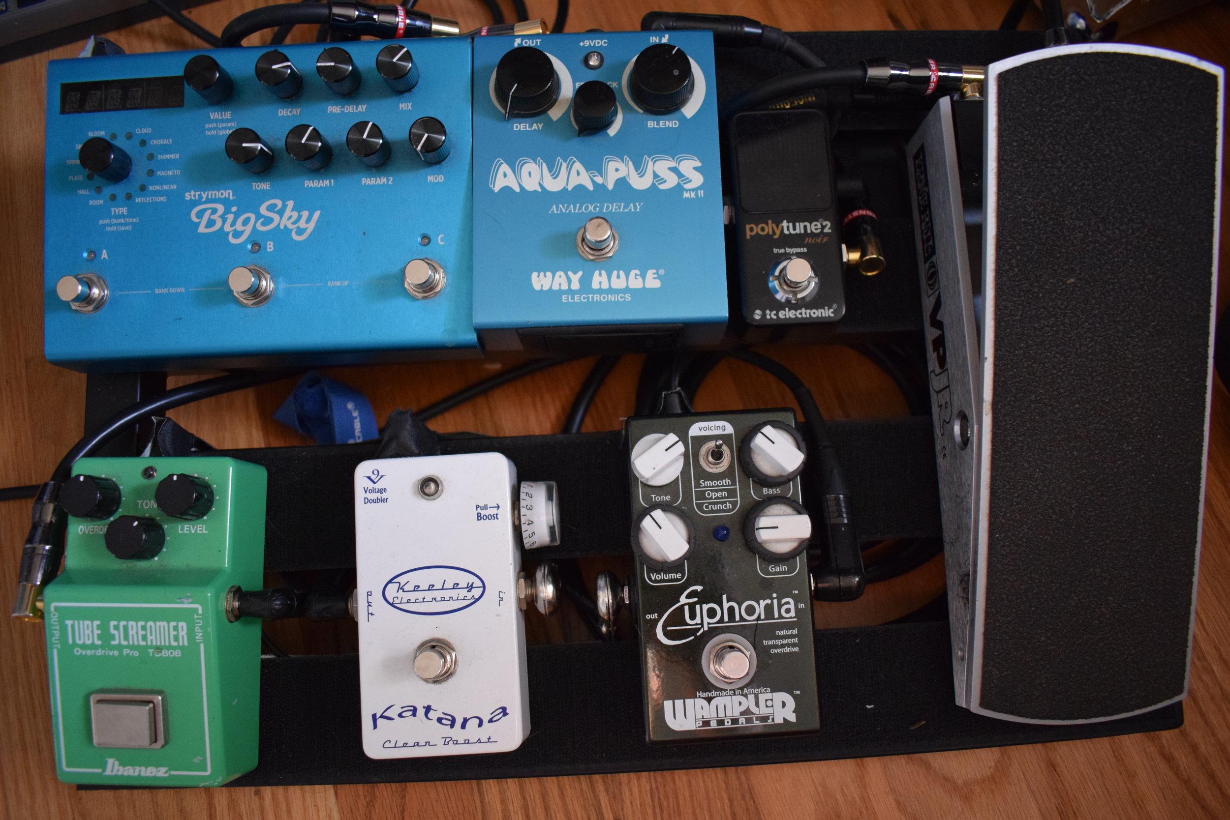 Justin Jon Studio Guitar Tracking in Los Angeles, CA