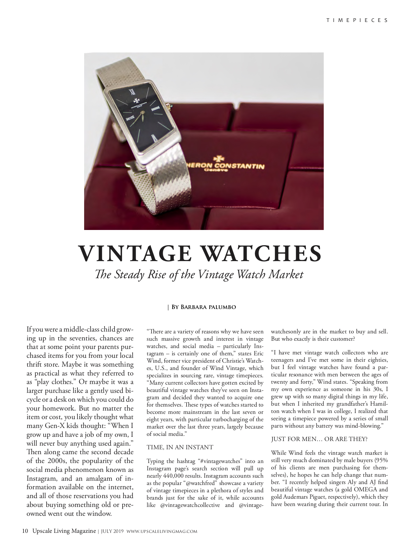 Vintage Watches - JULY 2019 digital - Upscale Living JPEG.jpg