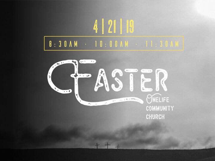 easter 2019 - Celebrating the resurrection of Jesus!