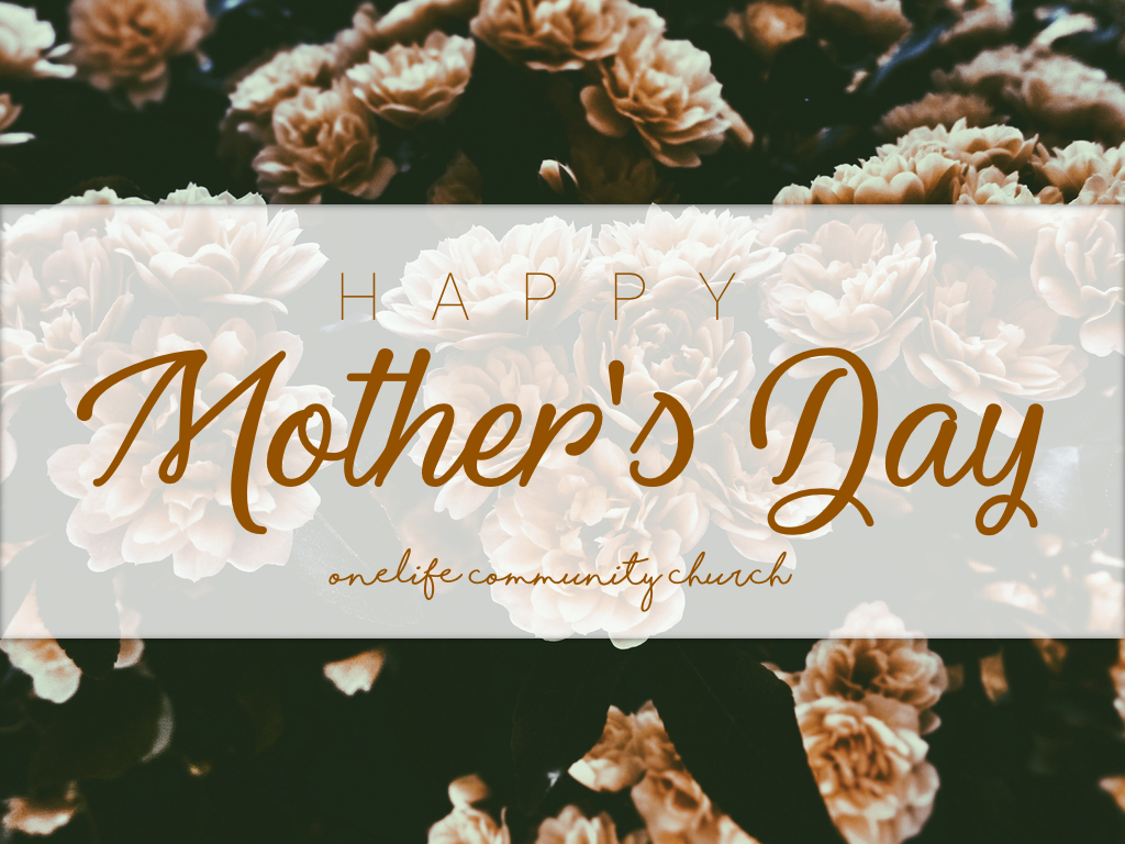 mother's day 2019 - Celebrating Mother's Day with a sermon on Jesus' first miracle!