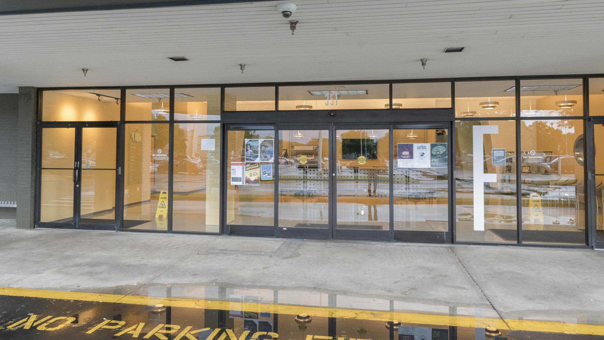 Front entrance, building 3F