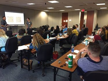 15 chess instructors from around Orange County attended the training seminar on October 4th