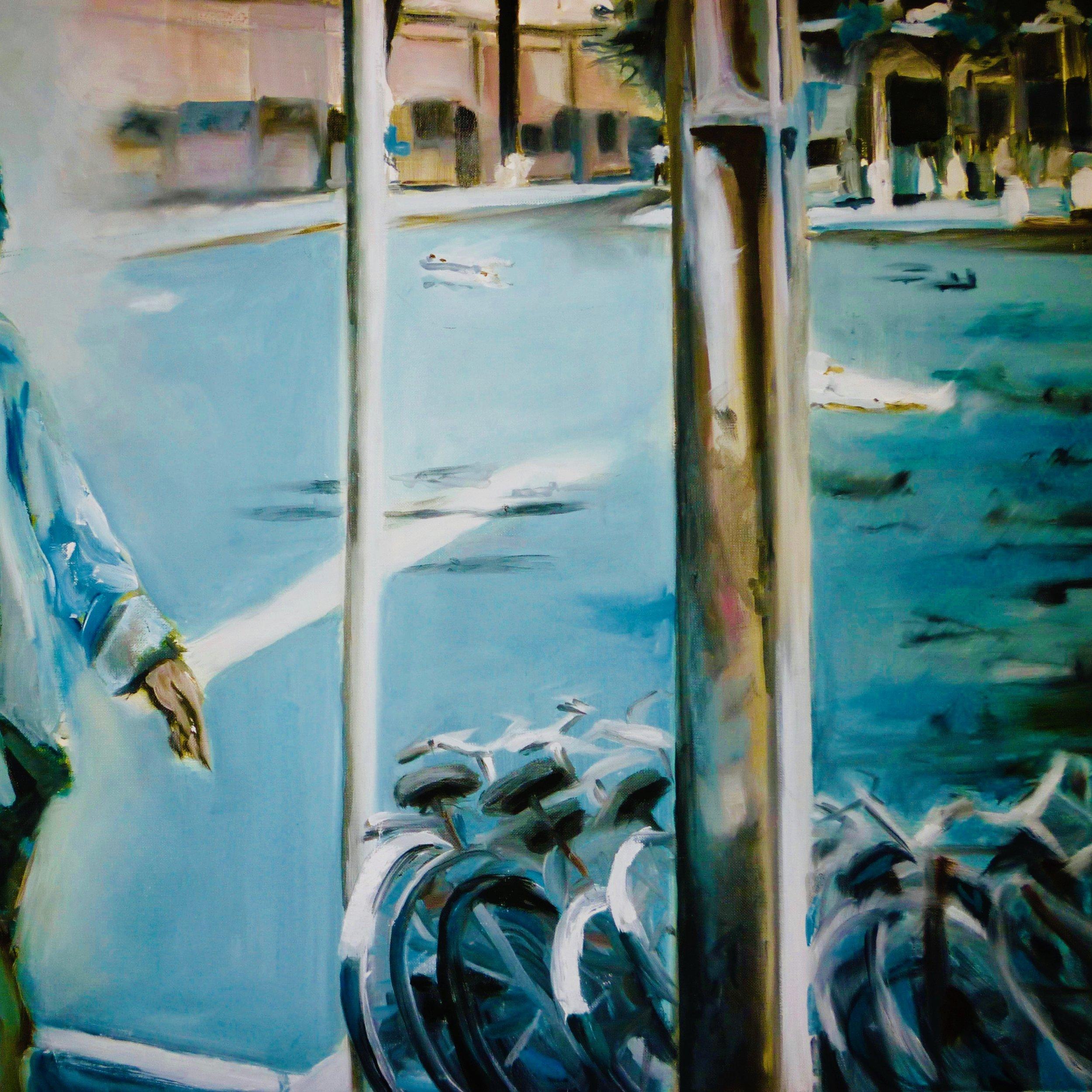 Sukawati  Oil on Canvas 80 x 60
