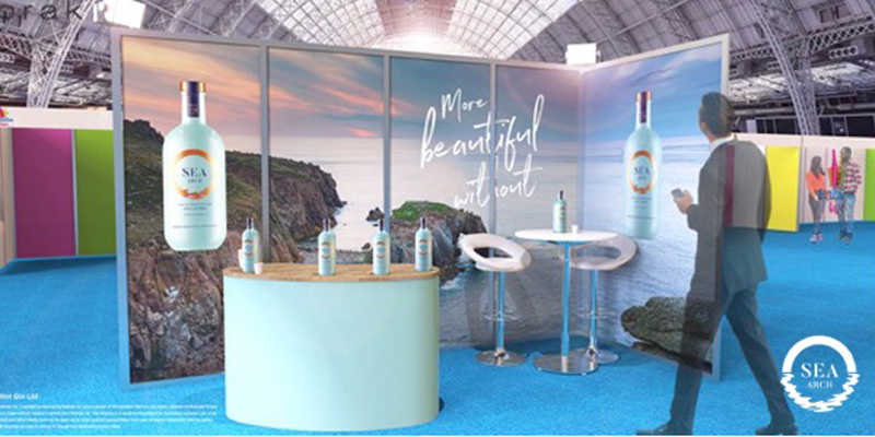 Sea Arch at ImbibeLive stands 53 and 54