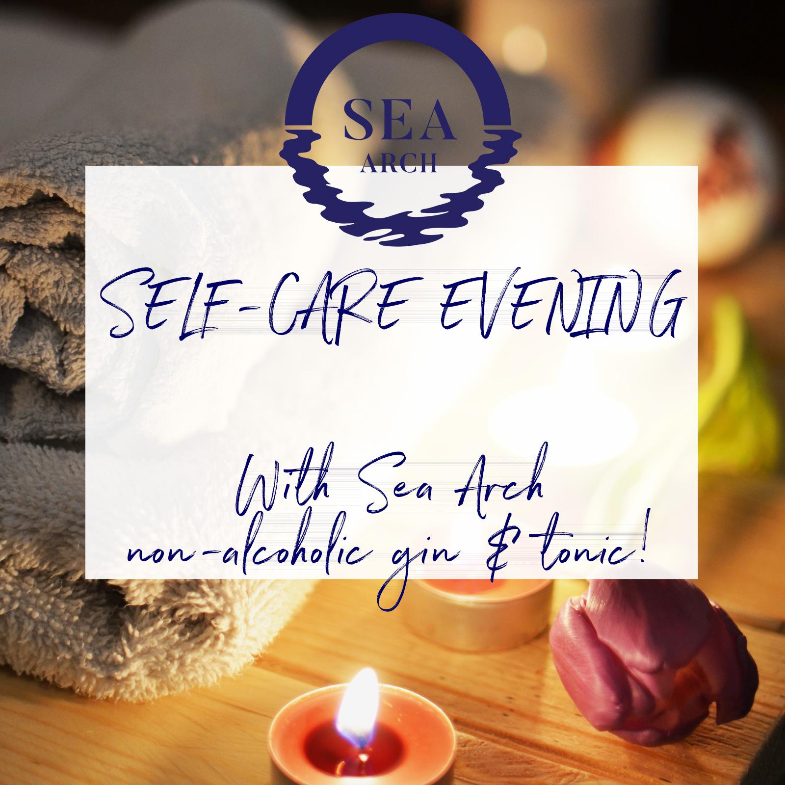 Sea+Arch+non alcoholic+g%26t+self care+evening