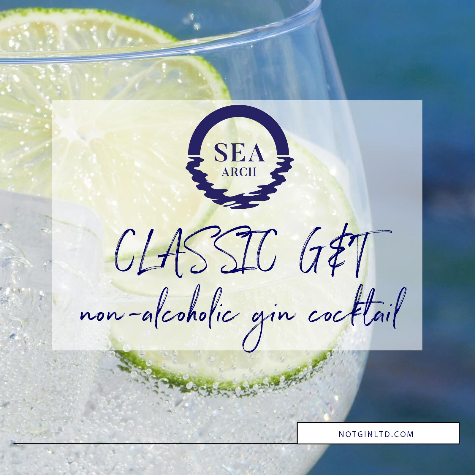 Sea Arch non-alcoholic G&T