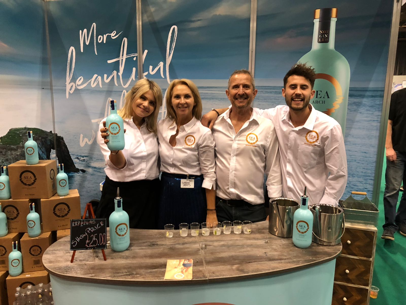 Sea Arch non-alcoholic gin at BBC Good Food Show SSE Glasgow