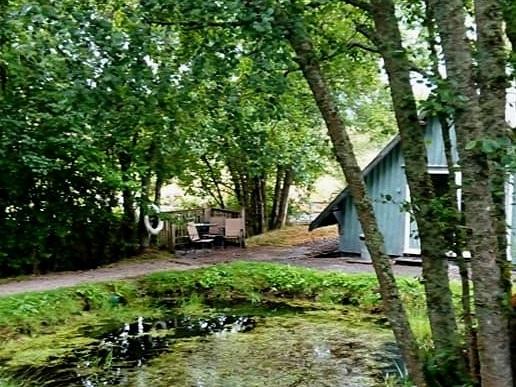 Where I spent my solitary retreat - beautifully peaceful