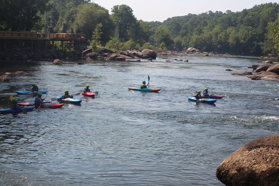Whitewater Boating Classes  are a great way to have an adventure and explore the Saluda River. We provide the equipment, instructor and boat for the class. Sizes are limited for number of people and boat sizes. $100. Call 803-404-8254 for booking or more details.