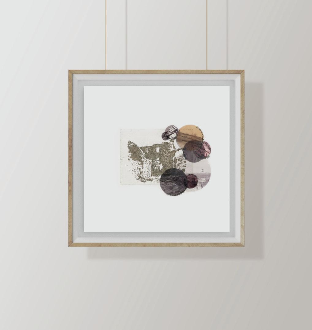 etching & mix media series