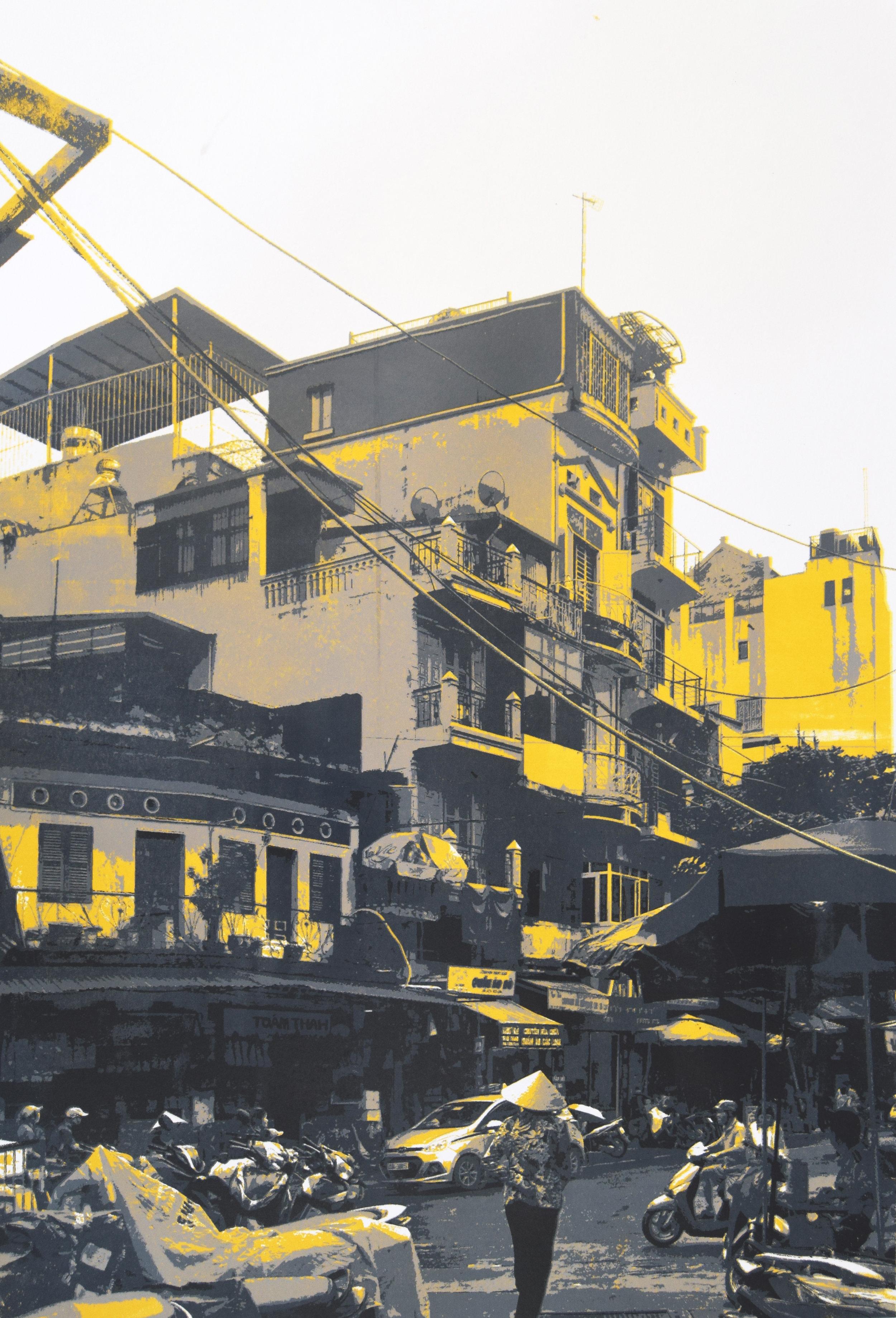 Balconies   420x594mm  1/5  Screen Print