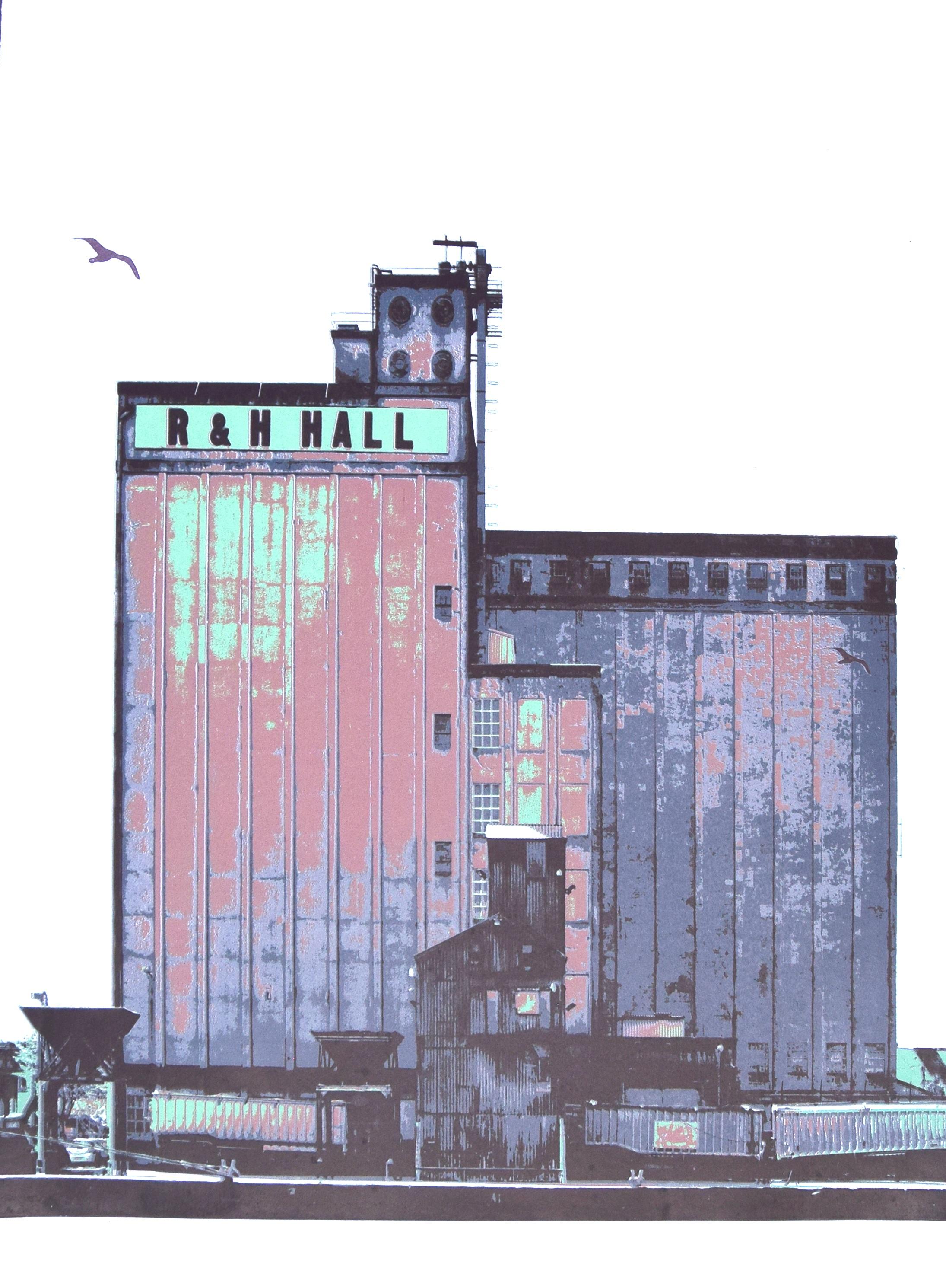 R&H Hall  1/6  650x950mm  Screen Print