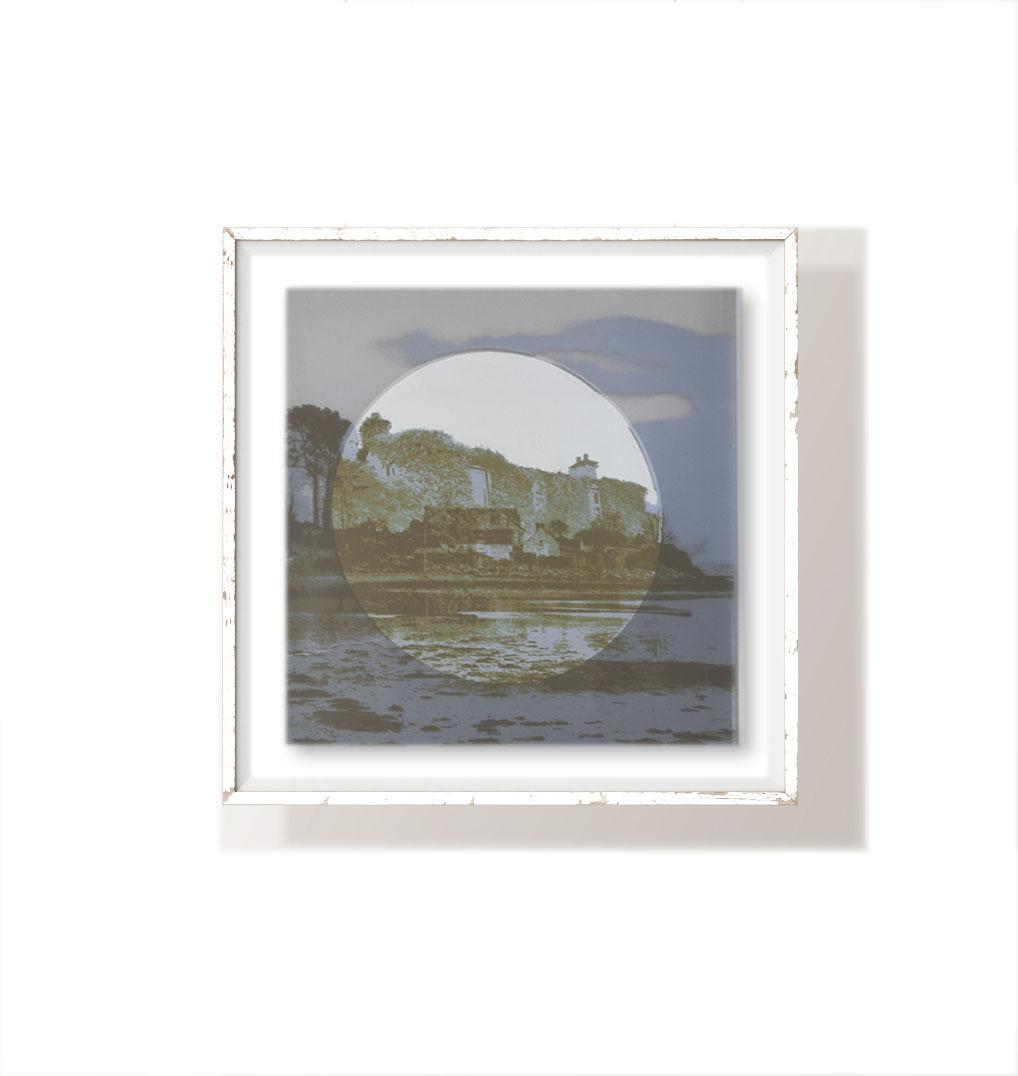 Coveting memories series  40x40cm  1/1  Screen Print on Glass