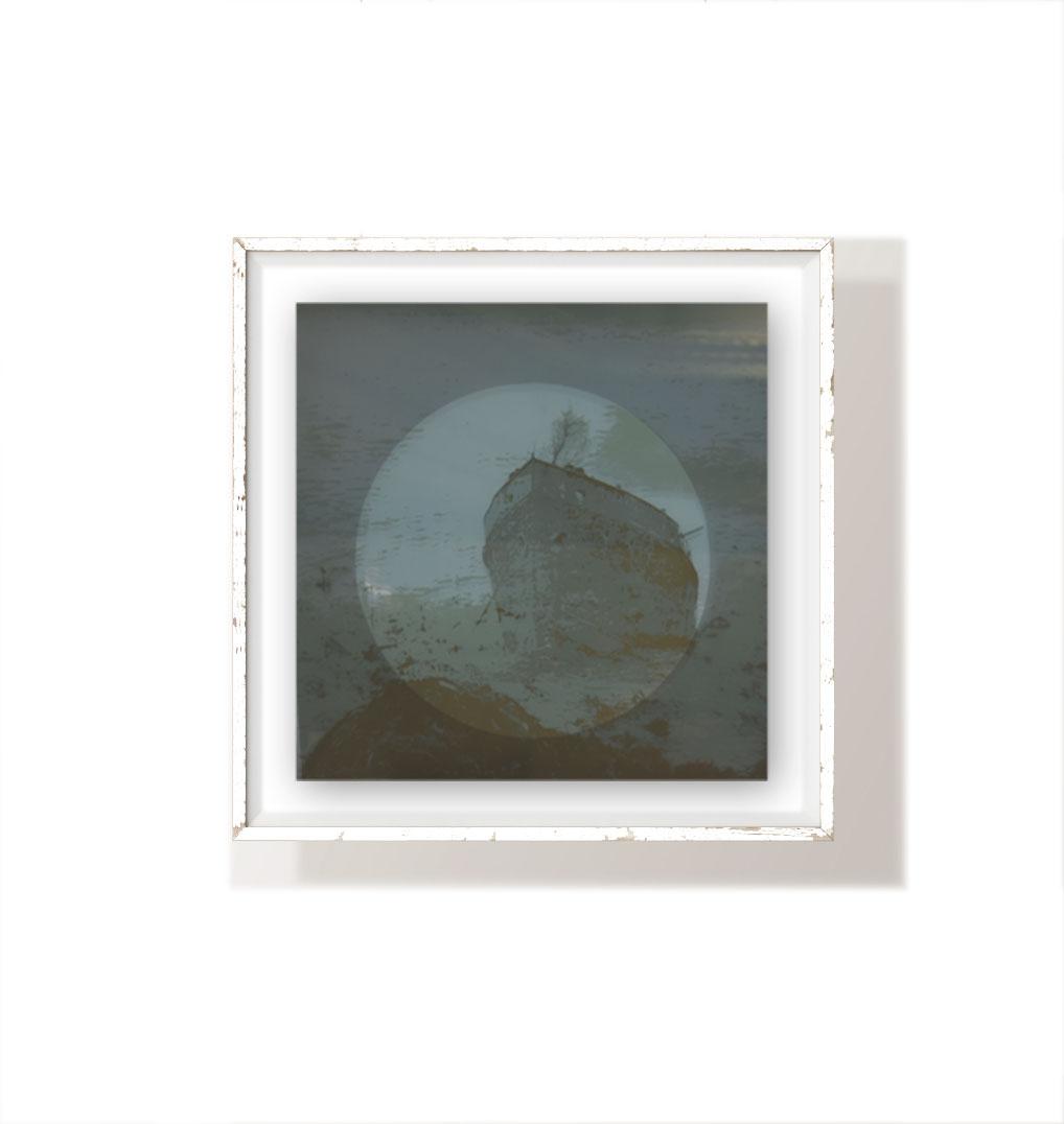 Coveting memories series  40x40cm  1/1  ScreenPrint on glass